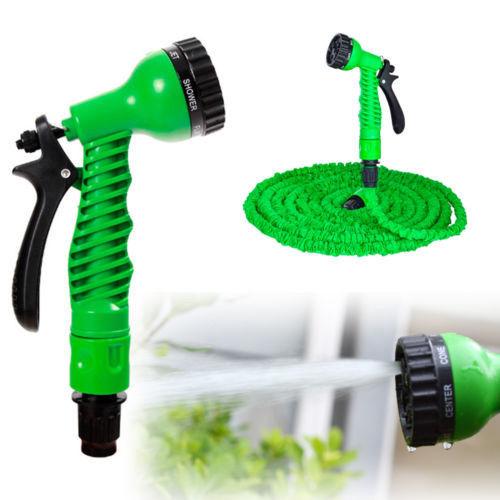 Flexibele Tuinslang Patent Groen 30m