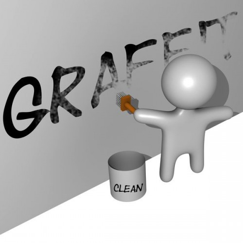 Graffiti laten verwijderen (1)