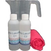 Nano Titanium Lakcoating 2C 2x100ml voor Boot of Camper